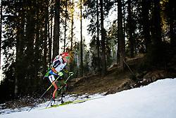 Laura Dahlmeier (GER) during Women 12.5 km Mass Start at day 4 of IBU Biathlon World Cup 2015/16 Pokljuka, on December 20, 2015 in Rudno polje, Pokljuka, Slovenia. Photo by Ziga Zupan / Sportida