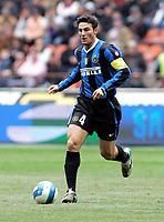 "Javier Zanetti (Inter) <br /> Italian ""Serie A"" 2006-2007<br /> 1 Apr 2007 (Match Day 30)<br /> Inter-Parma (2-0)<br /> ""Giuseppe Meazza"" Stadium-Milano-Italy<br /> Photographer:Jennifer Lorenzini INSIDE"