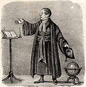 The Revd Bob Taylor. The D…l's Chaplain'  Robert Taylor (1784-1844) English clergyman called by some the Devil's chaplain.  Ordained in the Anglican church, he became a sceptic in 1818 and associated with the freethinker Richard Carlile. He was twice convicted of blasphemy.  Lithograph c1820.