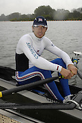 Caversham, Great Britain,   Zac PURCHASE, at the Redgrave Pinsent Rowing Lake. GB Rowing Training centre. Wed. 20.04.2008  [Mandatory Credit. Peter Spurrier/Intersport Images] Rowing course: GB Rowing Training Complex, Redgrave Pinsent Lake, Caversham, Reading