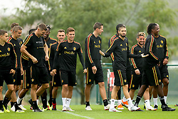 September 5, 2018 - Tubize, BELGIUM - Belgium's players pictured during a training session of Belgian national soccer team the Red Devils in Tubize, Wednesday 05 September 2018. The team is preparing for a friendly match against Scotland on 07 September and the UEFA Nations League match against Iceland on 11 September. BELGA PHOTO BRUNO FAHY (Credit Image: © Bruno Fahy/Belga via ZUMA Press)