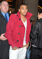 File photo - Chris Brown during Galliano Men's fashion fall winter 2010-11 collection presented during the Paris Men's Fashion Week, in Paris, France on January 22, 2010. US singer Chris Brown was arrested in Paris yesterday morning January 21, 2019, with two other people on suspicion of rape, a French police source said. Three men had been detained after a 24-year-old woman alleged she was raped at Brown's hotel suite on the night of January 15, 2019. Photo by ABACAPRESS.COM