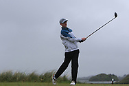 Robert Walsh Jnr (Kinsale) on the 8th tee during Round 3 of the Ulster Boys Championship at Donegal Golf Club, Murvagh, Donegal, Co Donegal on Friday 26th April 2019.<br /> Picture:  Thos Caffrey / www.golffile.ie