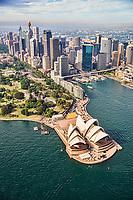 Opera House, Circular Quay & Sydney City Centre