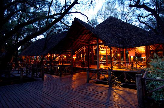 Samburu Intrepids Camp. Kenya. Africa.