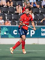 AMSTELVEEN -  Jip Krens (Tilburg)  tijdens de hockey hoofdklasse competitiewedstrijd  heren, Amsterdam-HC Tilburg (3-0).  COPYRIGHT KOEN SUYK