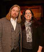 24/02/2018   Hugh Kelly Maoin Cheoil na Gaillimhe, and Sinead Hayes Tuam at a public meeting to discuss the future plans for a School of Music for Galway city, organised by Maoin Cheoil na Gaillimhe at Presentation NS. Photo:Andrew Downes, XPOSURE .
