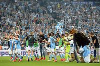 Fotball<br /> Tyskland<br /> 02.06.2015<br /> Foto: Witters/Digitalsport<br /> NORWAY ONLY<br /> <br /> Schlussjubel 1860<br /> Fussball 2. Bundesliga, Relegation Rueckspiel, TSV 1860 München - Holstein Kiel 2:1