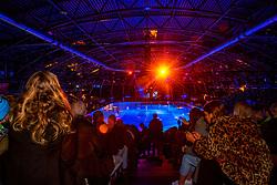 12-01-2019 NED: ISU European Short Track Championships 2019 day 2, Dordrecht<br /> Sfeer, Optisport Dordrecht, entertainment, lightshow