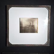 """Modern Industry, Kodak Power Plant, Polaroid""<br /> 8""x10"" Polaroid of the Kodak Power Plant shot with the ""Modern Industry"" camera.<br /> 1 of 1, unique Polaroid print, mounted in a custom steel frame."