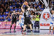 DESCRIZIONE : Campionato 2014/15 Dinamo Banco di Sardegna Sassari - Dolomiti Energia Aquila Trento Playoff Quarti di Finale Gara4<br /> GIOCATORE : Marco Spanghero<br /> CATEGORIA : Tiro Tre Punti Three Points Controcampo<br /> SQUADRA : Dolomiti Energia Aquila Trento<br /> EVENTO : LegaBasket Serie A Beko 2014/2015 Playoff Quarti di Finale Gara4<br /> GARA : Dinamo Banco di Sardegna Sassari - Dolomiti Energia Aquila Trento Gara4<br /> DATA : 24/05/2015<br /> SPORT : Pallacanestro <br /> AUTORE : Agenzia Ciamillo-Castoria/L.Canu