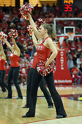 08 December 2012:  Redline Dancers during an NCAA mens basketball game between the Western Michigan Broncos and the Illinois State Redbirds (Missouri Valley Conference) in Redbird Arena, Normal IL