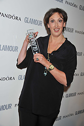 MIRANDA HART at the Glamour Women of The Year Awards 2011 held in Berkeley Square, London W1 on 7th June 2011.