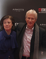 Festival Director Grainne Humphreys and Actor Richard Gere at the Gala screening of Time Out of Mind at the Dublin Film Festival, Savoy Cinema, Dublin, Ireland, Friday 27th February 2016. Photograph: Doreen Kennedy