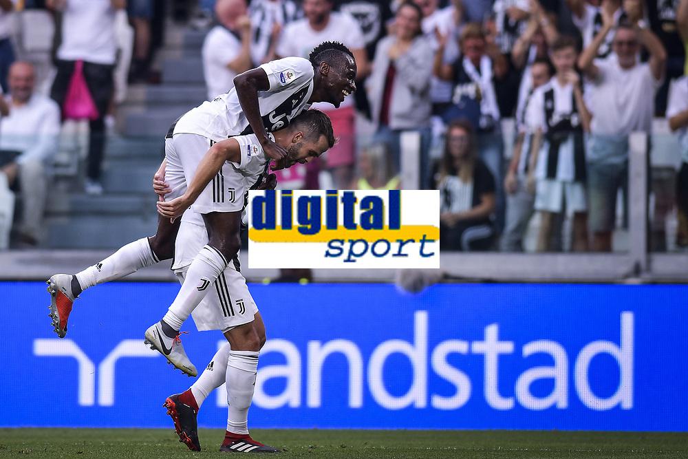 Miralem Pjanic Juventus celebrates scoring esultanza gol <br /> Torino 25-08-2018 Allianz Stadium Football Calcio Serie A 2018/2019 Juventus - Lazio Foto OnePlusNine / Insidefoto