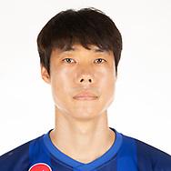 THAILAND - APRIL 11: Ko Seul Ki #8 of Port FC on April 11, 2019.<br /> .<br /> .<br /> .<br /> (Photo by: Naratip Golf Srisupab/SEALs Sports Images/MB Media Solutions)