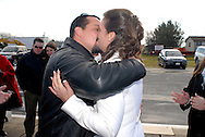 12/7/09 - 11:27:26 AM - FORTESCUE, NJ: Diana & Ken - December 7, 2009 - Fortescue, New Jersey. (Photo by William Thomas Cain/cainimages.com)