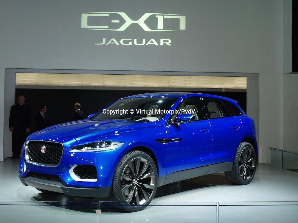 Jaguar C-X17 Concept at the IAA 2013, Frankfurt, Germany