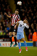 Chris Basham of Sheffield Utd during the English League One match at Bramall Lane Stadium, Sheffield. Picture date: April 5th 2017. Pic credit should read: Simon Bellis/Sportimage
