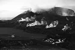 Poisoned gas from the volcanic eruption, Fimmvorduhals, Iceland -eiturgufur frá  eldgosinu á Fimmvörðuhálsi