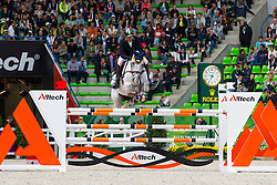 Sanjay Bagai, (IND), K2 - Team & Individual Competition Jumping Speed - Alltech FEI World Equestrian Games™ 2014 - Normandy, France.<br /> © Hippo Foto Team - Leanjo De Koster<br /> 02-09-14