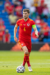 CARDIFF, WALES - Saturday, June 5, 2021: Wales' Ben Davies during an International Friendly between Wales and Albania at the Cardiff City Stadium in their game before the UEFA Euro 2020 tournament. (Pic by David Rawcliffe/Propaganda)