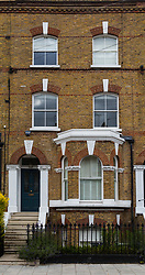 The house on Offerton Road in Clapham, London, where a suspected stowaway on a flight landing in London was killed after he fell to earth from the aircraft's undercarriage bay, landing in the garden. London, July 01 2019.