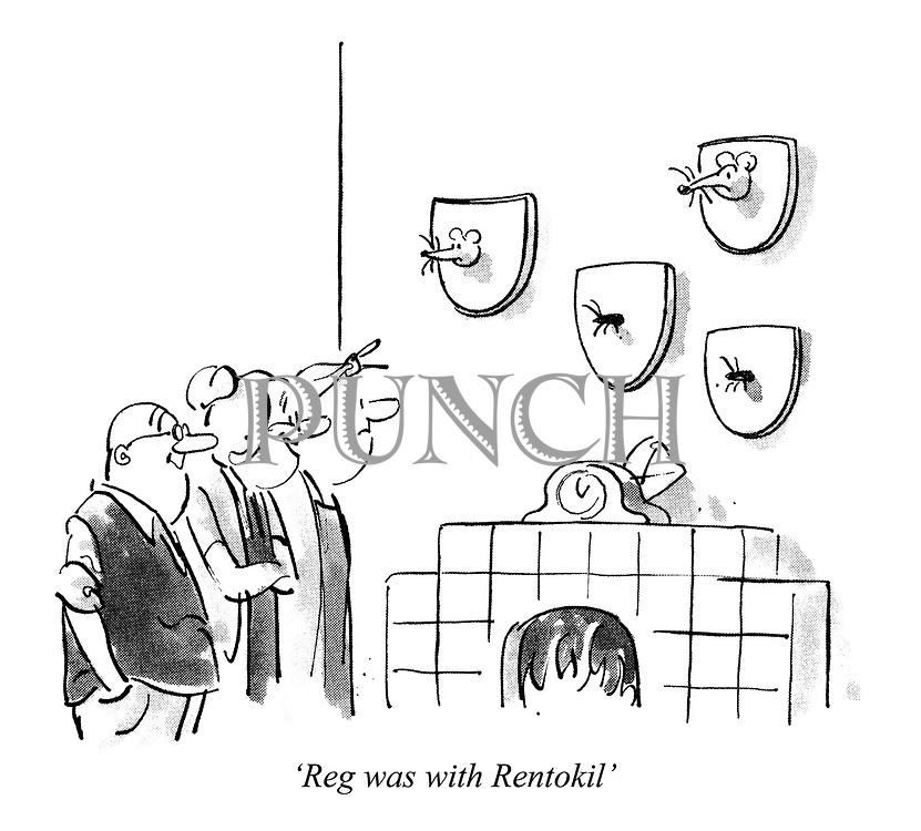 'Reg was with Rentokil'
