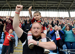 Bristol City Fans  - Photo mandatory by-line: Joe Meredith/JMP - Mobile: 07966 386802 - 18/10/2014 - SPORT - Football - Coventry - Ricoh Arena - Bristol City v Coventry City - Sky Bet League One