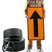 NASCAR Points Leader Kyle Busch for Sports Illustrated