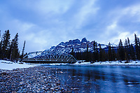 Landscape photography at Castle Mountain in Banff National Park in the Canadian Rocky Mountains<br /> <br /> ©2017, Sean Phillips<br /> http://www.RiverwoodPhotography.com