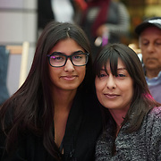 London, UK. 3rd September 2017.Finalists Charis Bechan and her mum attend the Mayor Of London Gigs at Westfield London.