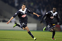 FOOTBALL - FRENCH CHAMPIONSHIP 2009/2010 - L1 - GIRONDINS BORDEAUX v MONTPELLIER HSC - 7/03/2010 - PHOTO JEAN MARIE HERVIO / DPPI -  JOY MAROUANE CHAMAKH (BOR) AFTER HIS GOAL