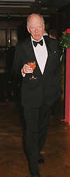 LORD ROTHSCHILD at a party in London on 22nd February 1999.MON 71