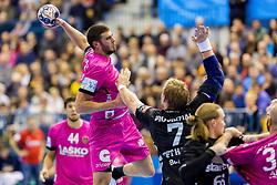 Branko Vujovic of RK Celje Pivovarna Lasko during handball match between RK Celje Pivovarna Lasko and THW Kiel in Group Phase A+B of VELUX EHF Champions League, on November 19, 2017 in Arena Zlatorog, Celje, Slovenia. Photo by Ziga Zupan / Sportida