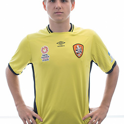 BRISBANE, AUSTRALIA - MARCH 17: Macklin Freke poses for a photo during the Brisbane Roar Youth headshot session at QUT Kelvin Grove on March 17, 2017 in Brisbane, Australia. (Photo by Patrick Kearney/Brisbane Roar)