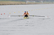 Eton, United Kingdom  GBR W2- Bow Helen GLOVER and Heather STANNING, at the start of their heat of the women's pair at the 2012 GB Rowing Senior Trials, Dorney Lake. Nr Windsor, Berks.  Saturday  10/03/2012  [Mandatory Credit; Peter Spurrier/Intersport-images]