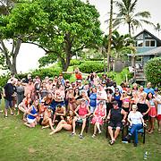 Bri and Ray's 4th of July Wedding Party Hawaii 2019