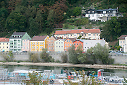 Cityscape of Passau, Bavaria, Germany