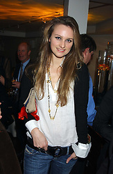 BRYONY DANIELS at the launch of a new bar Bardo, 101-105 Walton Street, London SW3 on 29th November 2005.<br /><br />NON EXCLUSIVE - WORLD RIGHTS