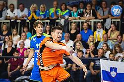 25-10-2019 SLO: Slovenia - Netherlands, Ormoz<br /> Toon Leenders of Nederland during friendly handball match between Slovenia and Nederland, on October 25, 2019 in Sportna dvorana Hardek, Ormoz, Slovenia.