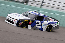 November 16, 2018 - Homestead, FL, U.S. - HOMESTEAD, FL - NOVEMBER 16: Matt Tifft, driver of the #2 Tunity Chevy, during practice for the NASCAR Xfinity Series playoff race, the Ford EcoBoost 300 on November, 16, 2018, at Homestead - Miami Speedway in Homestead, FL. (Photo by Malcolm Hope/Icon Sportswire) (Credit Image: © Malcolm Hope/Icon SMI via ZUMA Press)