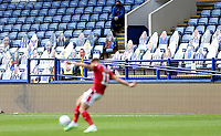 A general view of the second half action as cardboard cut-outs take the place of fans in the stands<br /> <br /> Photographer Rich Linley/CameraSport<br /> <br /> The EFL Sky Bet Championship - Sheffield Wednesday v Nottingham Forest - Saturday 20th June 2020 - Hillsborough - Sheffield <br /> <br /> World Copyright © 2020 CameraSport. All rights reserved. 43 Linden Ave. Countesthorpe. Leicester. England. LE8 5PG - Tel: +44 (0) 116 277 4147 - admin@camerasport.com - www.camerasport.com