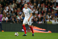 Phil Jones of England in action. FIFA World cup qualifying match, European group F, England v Slovakia at Wembley Stadium in London on Monday 4th September 2017.<br /> pic by Andrew Orchard, Andrew Orchard sports photography.