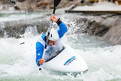 Isak OHRSTROM (SWE) during Kayak Finals at World Cup Tacen, 17 October 2020, Tacen, Ljubljana Slovenia. Photo by Grega Valancic / Sportida