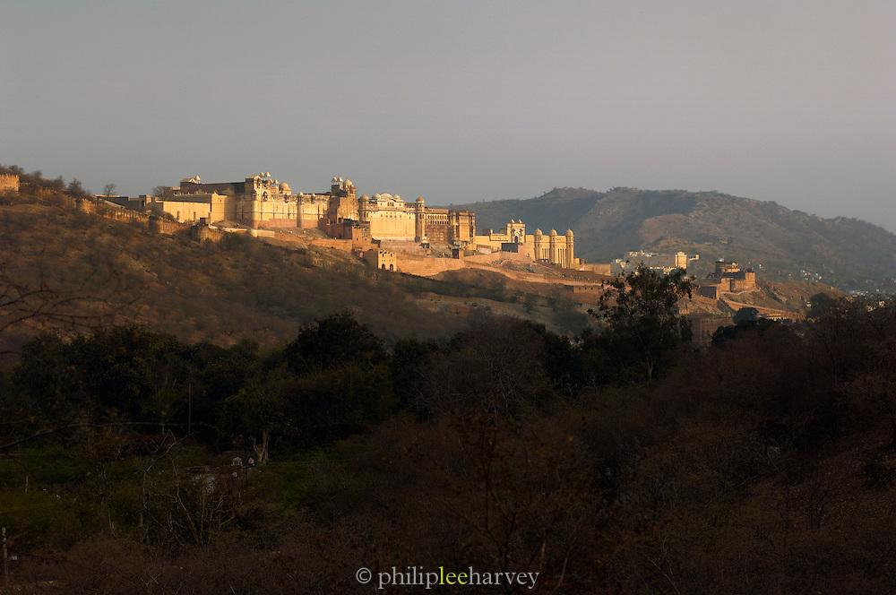 The Amber Fort near Jaipur, Rajasthan, India