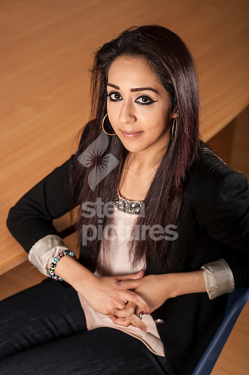 7th July London bombings survivor and Projects Director of JAN Trust, Sajda Mughal. <br /> Picture by Daniel Hambury/Stella Pictures Ltd +44 7813 022858<br /> 03/02/2014