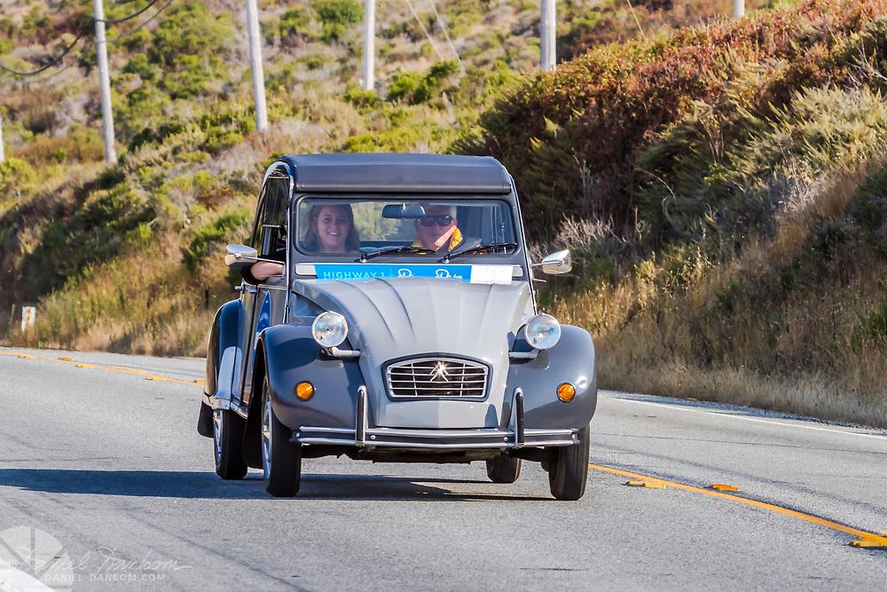 California Highway 1 Dream Run celebrating the reopening of Highway 1. From WeatherTech Raceway, Laguna Seca to Morro Bay