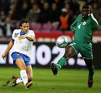 Fotball<br /> Privatlandskamp<br /> 16.11.2005<br /> Italia v Elfenbenskysten <br /> Foto: Graffiti/Digitalsport<br /> NORWAY ONLY<br /> <br /> Alessandro Del Piero Italy Abib Kolo-Toure Cote d'Ivoire