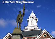 School Tower and Statue, Weatherly, NE PA